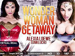 Alexia Loewe  Juan Lucho in Wonder woman getaway - VirtualRealPorn