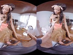 Jasmine Webb  Kiki Minaj in After lunch - VirtualRealPorn