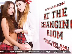 Amirah Adara  Misha Cross in At the changing room - VirtualRealPorn