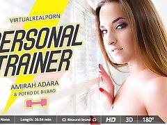 Amirah Adara  Potro de Bilbao in Personal trainer - VirtualRealPorn