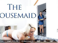 Carolina Abril  Juan Lucho  Sienna Day in The Housemaid - VirtualRealPorn