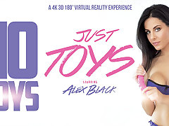 Alex Black in No Boys, Just Toys - VRBangers
