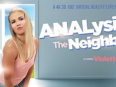 Violette Pink in ANALysing your neighbor - VRBangers