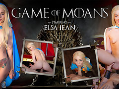 Elsa Jean in Game of Moans - WankzVR