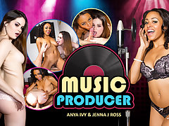 Anya Ivy  Jenna J Ross in Music Producer - WankzVR