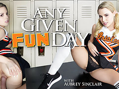 Aubrey Sinclair in Any Given Funday - WankzVR