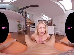 18VRcom Your Morning Wood For Claudia Mac's Tight Asshole