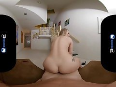 BaDoinkVRcom PAWG Housewife AJ Applegate Cheats On Her Hubby With You