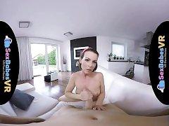 SexBabesVR - Retrolisious with horny Milf Caroline Ardolino