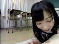 ZENRA VR Japanese schoolgirl Noa Eikawa in class