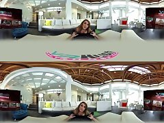 VRHush - Christiana Cinn is Your Downward Facing Dog