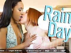 Amarna Miller  Miguel Zayas  Noe Milk in Rainy Day - VirtualRealPorn