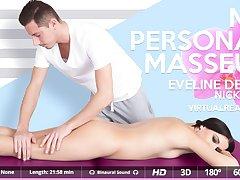 Eveline Dellai  Nick Ross in My personal masseur - VirtualRealPorn
