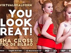 Misha Cross  Potro de Bilbao in You look great! - VirtualRealPorn